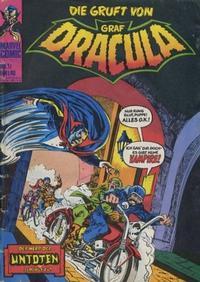 Cover Thumbnail for Die Gruft von Graf Dracula (BSV - Williams, 1974 series) #11
