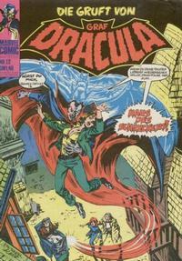 Cover Thumbnail for Die Gruft von Graf Dracula (BSV - Williams, 1974 series) #12