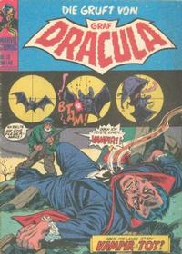 Cover for Die Gruft von Graf Dracula (BSV - Williams, 1974 series) #15