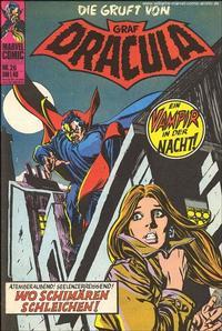Cover Thumbnail for Die Gruft von Graf Dracula (BSV - Williams, 1974 series) #26