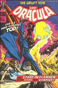 Cover Thumbnail for Die Gruft von Graf Dracula (BSV - Williams, 1974 series) #27