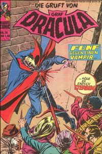 Cover Thumbnail for Die Gruft von Graf Dracula (BSV - Williams, 1974 series) #28