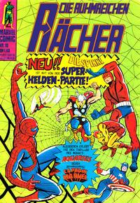 Cover Thumbnail for Die ruhmreichen Rächer (BSV - Williams, 1974 series) #10
