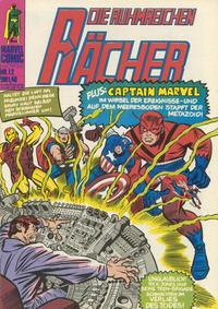 Cover Thumbnail for Die ruhmreichen Rächer (BSV - Williams, 1974 series) #12