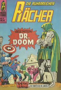 Cover Thumbnail for Die ruhmreichen Rächer (BSV - Williams, 1974 series) #24