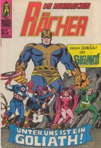 Cover Thumbnail for Die ruhmreichen Rächer (BSV - Williams, 1974 series) #27