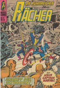Cover Thumbnail for Die ruhmreichen Rächer (BSV - Williams, 1974 series) #35