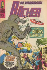 Cover Thumbnail for Die ruhmreichen Rächer (BSV - Williams, 1974 series) #36