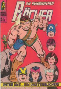 Cover Thumbnail for Die ruhmreichen Rächer (BSV - Williams, 1974 series) #37