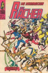 Cover Thumbnail for Die ruhmreichen Rächer (BSV - Williams, 1974 series) #43