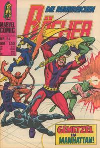 Cover Thumbnail for Die ruhmreichen Rächer (BSV - Williams, 1974 series) #54