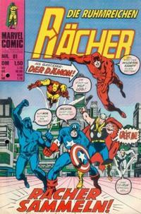 Cover Thumbnail for Die ruhmreichen Rächer (BSV - Williams, 1974 series) #81