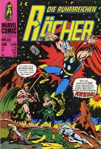 Cover Thumbnail for Die ruhmreichen Rächer (BSV - Williams, 1974 series) #83