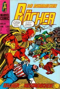 Cover Thumbnail for Die ruhmreichen Rächer (BSV - Williams, 1974 series) #94
