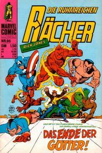 Cover Thumbnail for Die ruhmreichen Rächer (BSV - Williams, 1974 series) #96