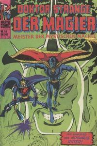 Cover Thumbnail for Doktor Strange der Magier (BSV - Williams, 1975 series) #10