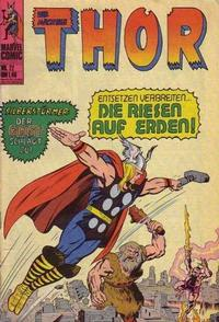 Cover Thumbnail for Thor (BSV - Williams, 1974 series) #22