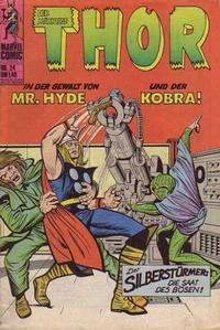 Cover Thumbnail for Thor (BSV - Williams, 1974 series) #24