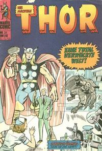 Cover Thumbnail for Thor (BSV - Williams, 1974 series) #31