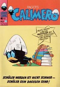 Cover Thumbnail for Calimero (BSV - Williams, 1973 series) #13