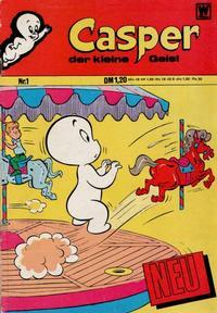Cover Thumbnail for Casper der kleine Geist (BSV - Williams, 1973 series) #1