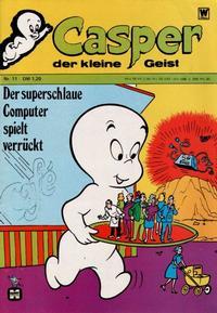 Cover Thumbnail for Casper der kleine Geist (BSV - Williams, 1973 series) #11
