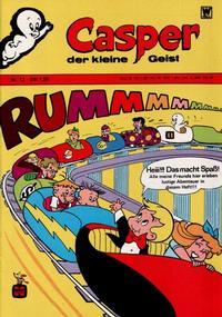 Cover Thumbnail for Casper der kleine Geist (BSV - Williams, 1973 series) #12