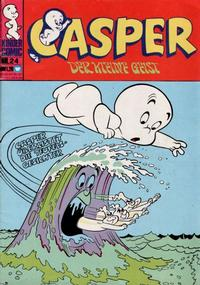 Cover Thumbnail for Casper der kleine Geist (BSV - Williams, 1973 series) #24