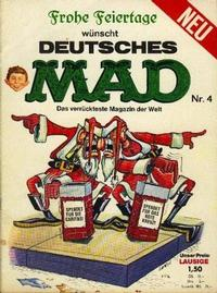 Cover Thumbnail for Mad (BSV - Williams, 1967 series) #4