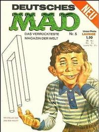 Cover Thumbnail for Mad (BSV - Williams, 1967 series) #5