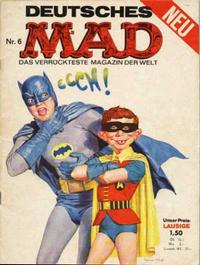 Cover Thumbnail for Mad (BSV - Williams, 1967 series) #6