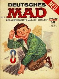 Cover Thumbnail for Mad (BSV - Williams, 1967 series) #7