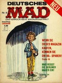 Cover Thumbnail for Mad (BSV - Williams, 1967 series) #8