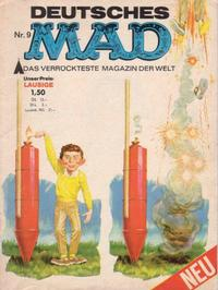 Cover Thumbnail for Mad (BSV - Williams, 1967 series) #9