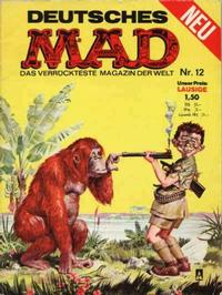 Cover Thumbnail for Mad (BSV - Williams, 1967 series) #12