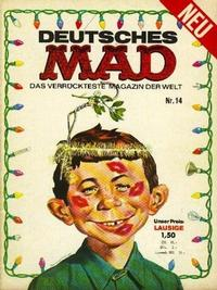 Cover Thumbnail for Mad (BSV - Williams, 1967 series) #14
