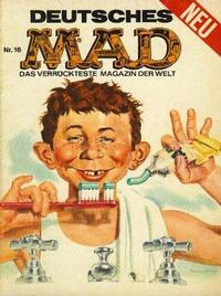 Cover Thumbnail for Mad (BSV - Williams, 1967 series) #16