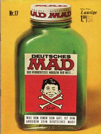 Cover Thumbnail for Mad (BSV - Williams, 1967 series) #17