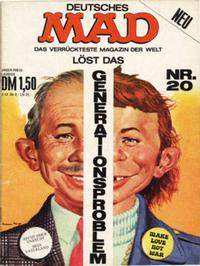 Cover Thumbnail for Mad (BSV - Williams, 1967 series) #20