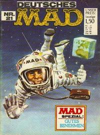 Cover Thumbnail for Mad (BSV - Williams, 1967 series) #21