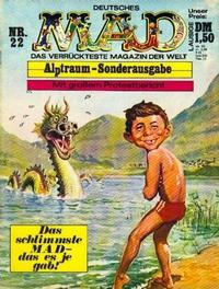 Cover Thumbnail for Mad (BSV - Williams, 1967 series) #22