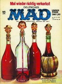 Cover Thumbnail for Mad (BSV - Williams, 1967 series) #24