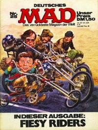 Cover Thumbnail for Mad (BSV - Williams, 1967 series) #25