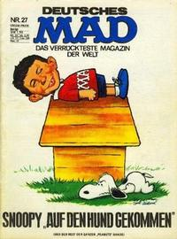 Cover Thumbnail for Mad (BSV - Williams, 1967 series) #27