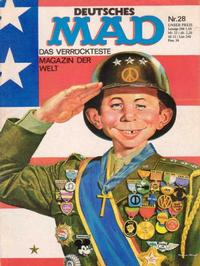 Cover Thumbnail for Mad (BSV - Williams, 1967 series) #28