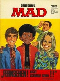 Cover Thumbnail for Mad (BSV - Williams, 1967 series) #29