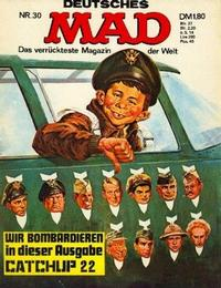 Cover Thumbnail for Mad (BSV - Williams, 1967 series) #30