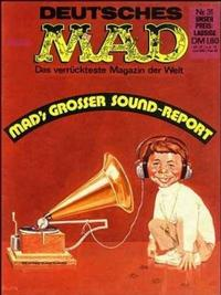 Cover Thumbnail for Mad (BSV - Williams, 1967 series) #31