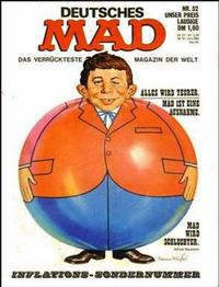 Cover Thumbnail for Mad (BSV - Williams, 1967 series) #32