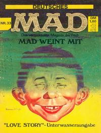 Cover for Mad (BSV - Williams, 1967 series) #33